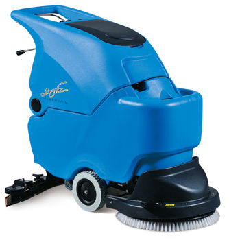 Johnny Vac Auto Floor Scrubber With Battery And Charger